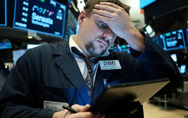 Обвал бирж в США