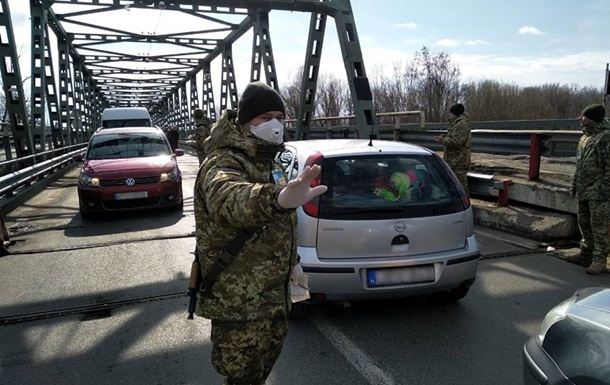 Україна не закрила пункти пропуску через Covid-19