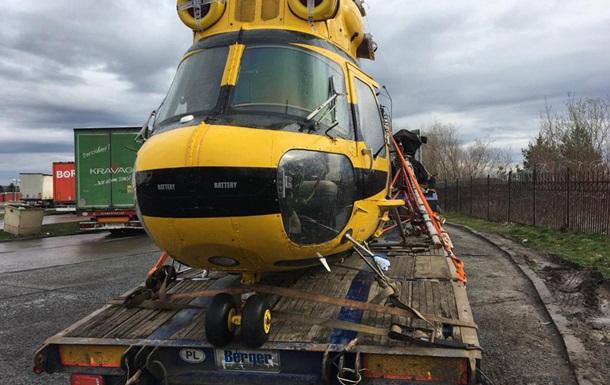 В Украину из Польши пытались провезти вертолет