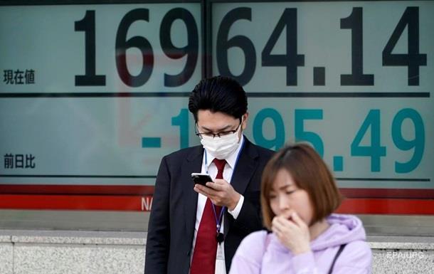 В Японії фондовий індекс Nikkei впав до мінімуму за 30 років