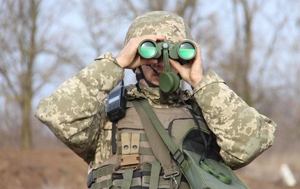 На Донбассе обстрелян участок разведения – штаб
