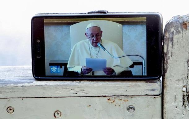 Папа Римський проведе великодню службу без вірян