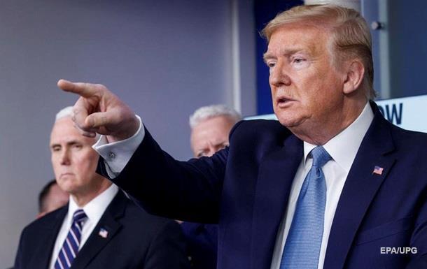Спалах коронавірусу у США закінчиться в липні-серпні - Трамп
