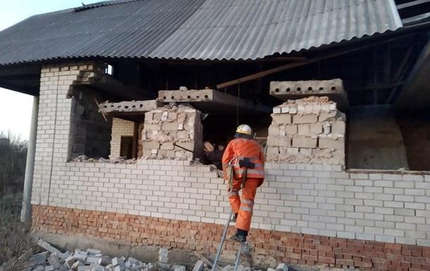 В Днепропетровской области при обрушении в недострое погиб ребенок