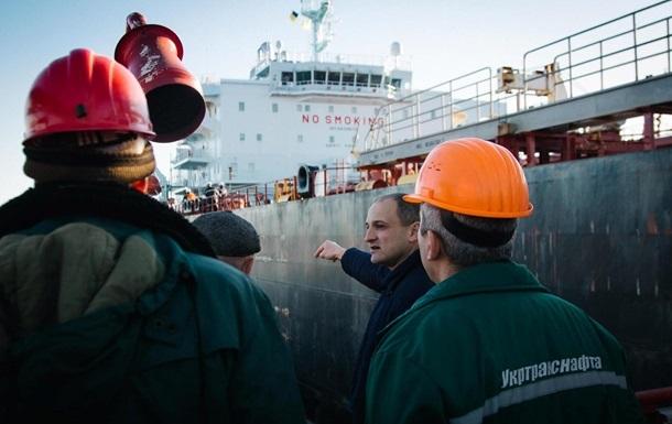 Украина начала перекачку нефти в Беларусь