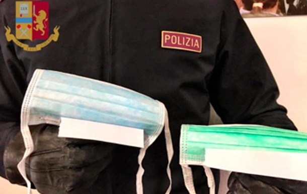В Италии задержали украинку за незаконную продажу масок