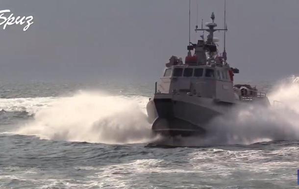 Испытания боевых катеров ВМС показали на видео