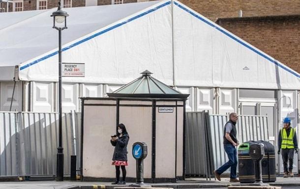 В Британии строят мобильные морги для жертв COVID-2019