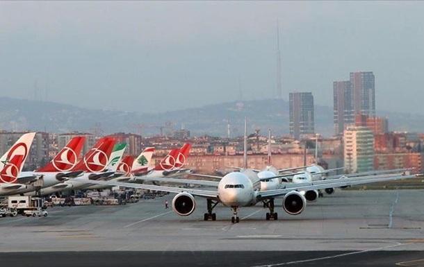СOVID-19: Туреччина заборонила авіарейси в Україну і ще 45 країн