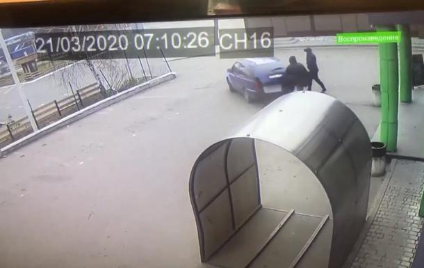 Под Киевом воры украли платежный терминал