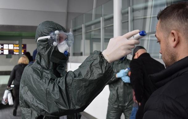 В аэропорту Борисполь у мужчины обнаружили коронавирус
