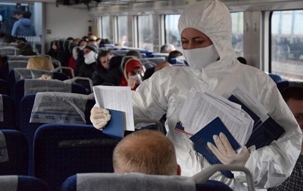 Пограничники за сутки выявили случай коронавируса