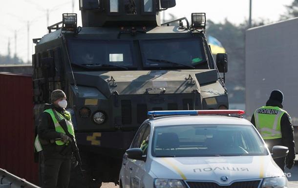 На Тернопольщине заблокировали населенные пункты