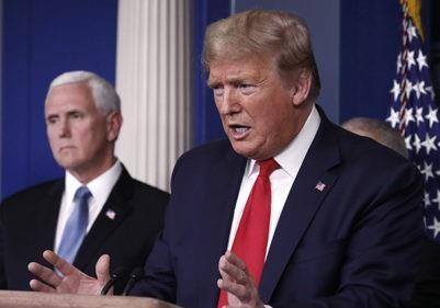 Дональд Трамп: Президент військового часу?