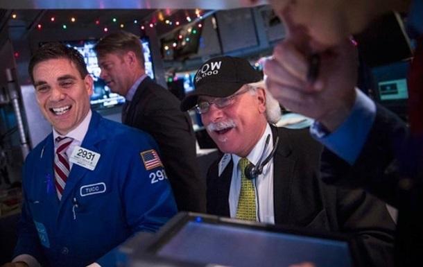 Индекс Dow Jones показал рекордный рост за 87 лет