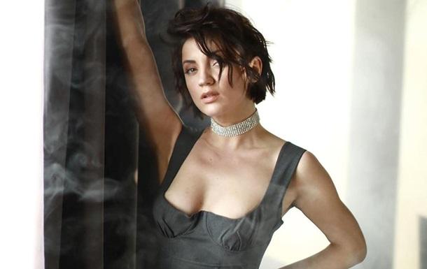 Похудевшая Оля Цибульская снялась в кружевном белье
