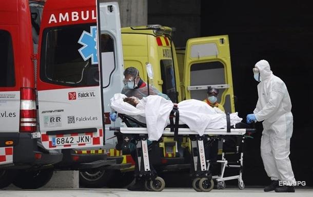 В Испании за сутки свыше 650 жертв пандемии