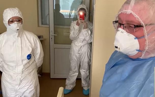Появилось видео из больницы, где лечатся от COVID нардепы