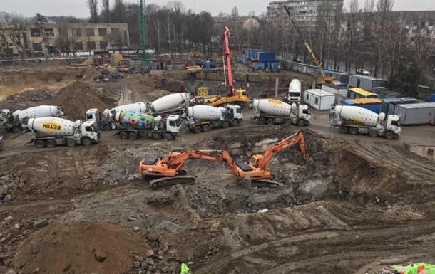 В Киеве на время карантина остановилась каждая пятая стройка