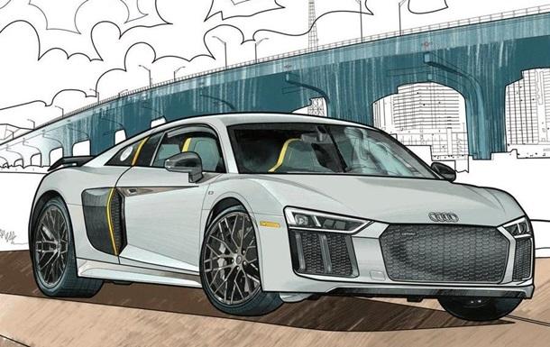 Audi і Mercedes-Benz випустили розмальовки для тих, хто сидить на карантині: фото