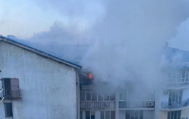 В Одессе произошел пожар в многоквартирном доме