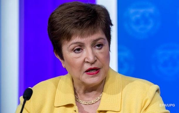 Глава МВФ допустила збільшення кредиту для України