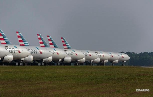 Авиакомпании США сократили международные рейсы до 95%