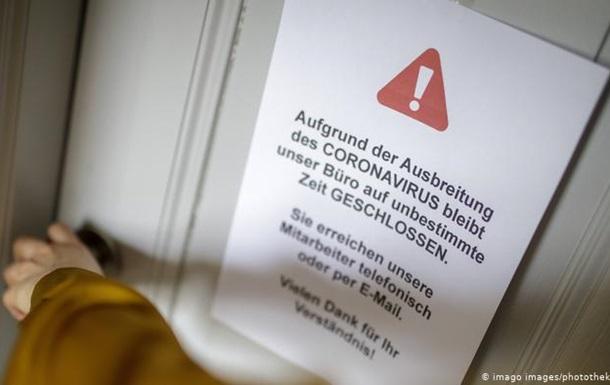 Коронавірус: карантинні заходи в Німеччині послаблять не раніше 20 квітня