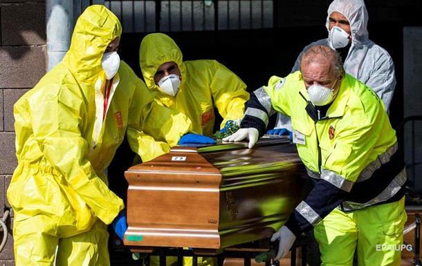 В Італії число жертв COVID-19 перевищило 10 тисяч
