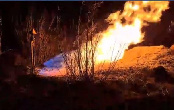 Во Львове из-за поджога сухой травы загорелся газопровод