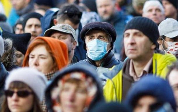Коронавирус-19: в Украине начался этап резкого роста инфицирования