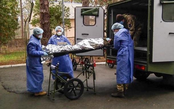 ЗСУ тренуються розгортати мобільні госпіталі для інфекційних хворих