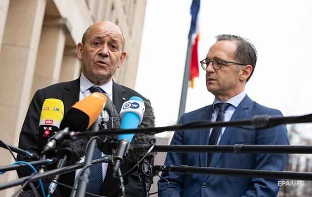 Германия и Франция сделали заявление по Донбассу
