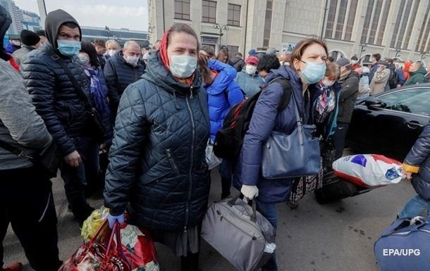 Украина ждет прибытия шести спецрейсов с заробитчанами