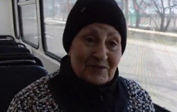 Пенсионерка с Горловки рвет социальные сети!!!
