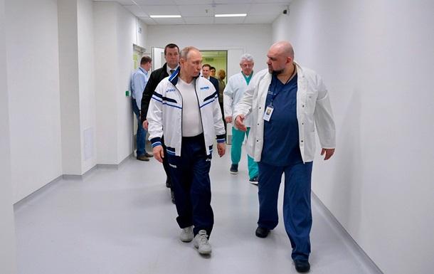 У сопровождавшего Путина главврача больницы нашли коронавирус