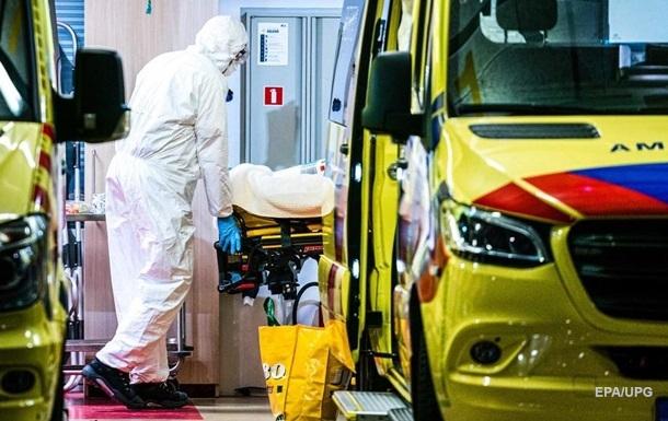 В Нидерландах побит рекорд по числу смертей от COVID-19 за сутки