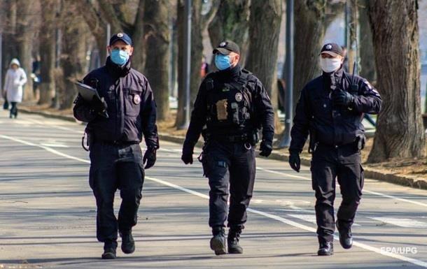 Поліція склала більше трьох тисяч протоколів на порушників карантину