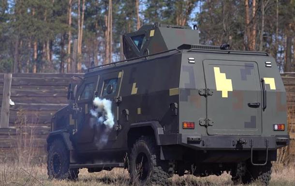 Бронеавтомобиль Козак-5 испытали обстрелом