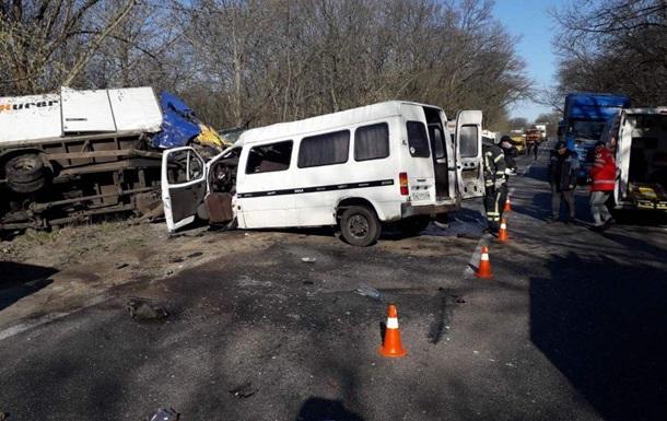 ДТП на Кировоградщине: семь пострадавших