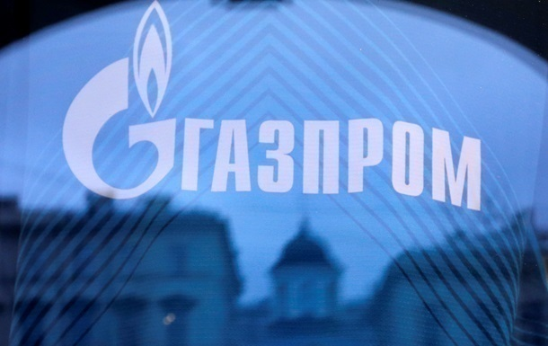 Газпром знизив видобуток газу за місяць майже на 20%