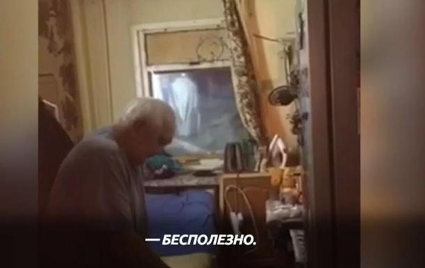 Пенсионера замуровало в доме снегом