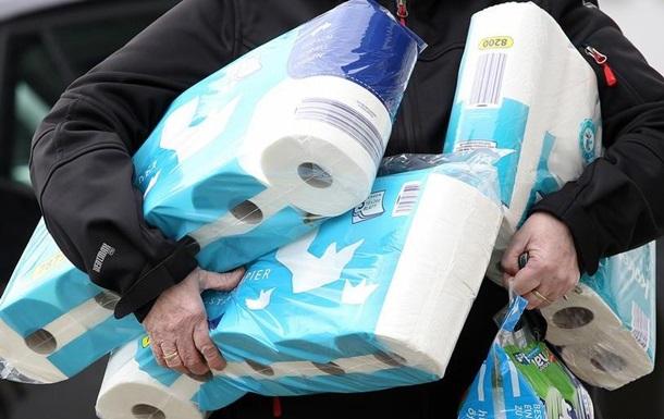 Туалетний папір як символ пандемії коронавірусу