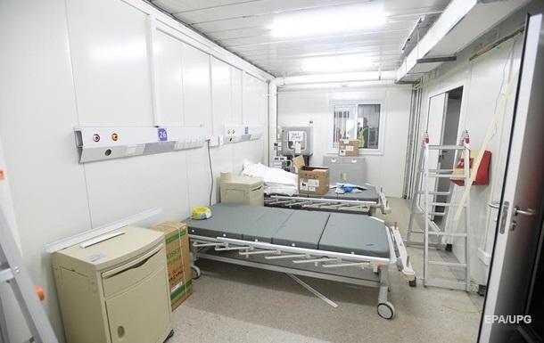 В Британии построят временные госпитали для людей с COVID-19