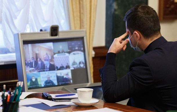 Зеленський обговорив з МОЗ заходи безпеки на Великдень