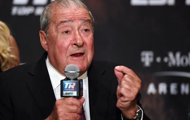 Арум: Ребятам из UFC практически ничего не платят