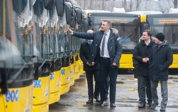 Кличко рассказал, как  вытеснит  маршрутки