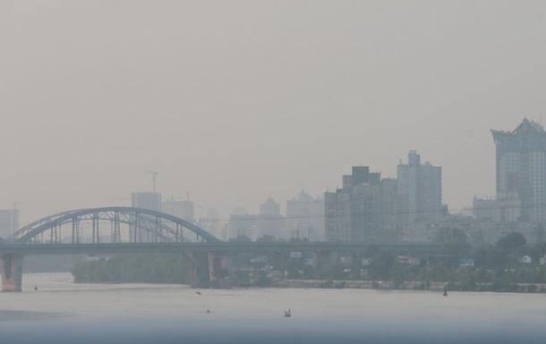 Забруднення повітря у Києві зашкалює