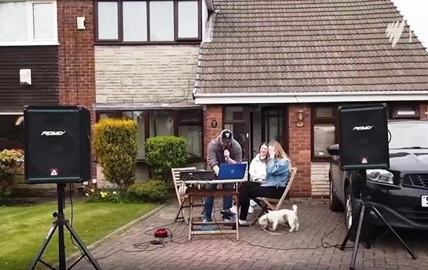 Британец необычно развлек соседей во время карантина