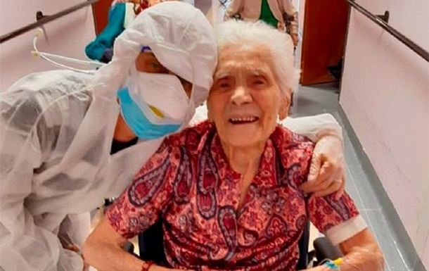 Итальянка в 104 года победила коронавирус